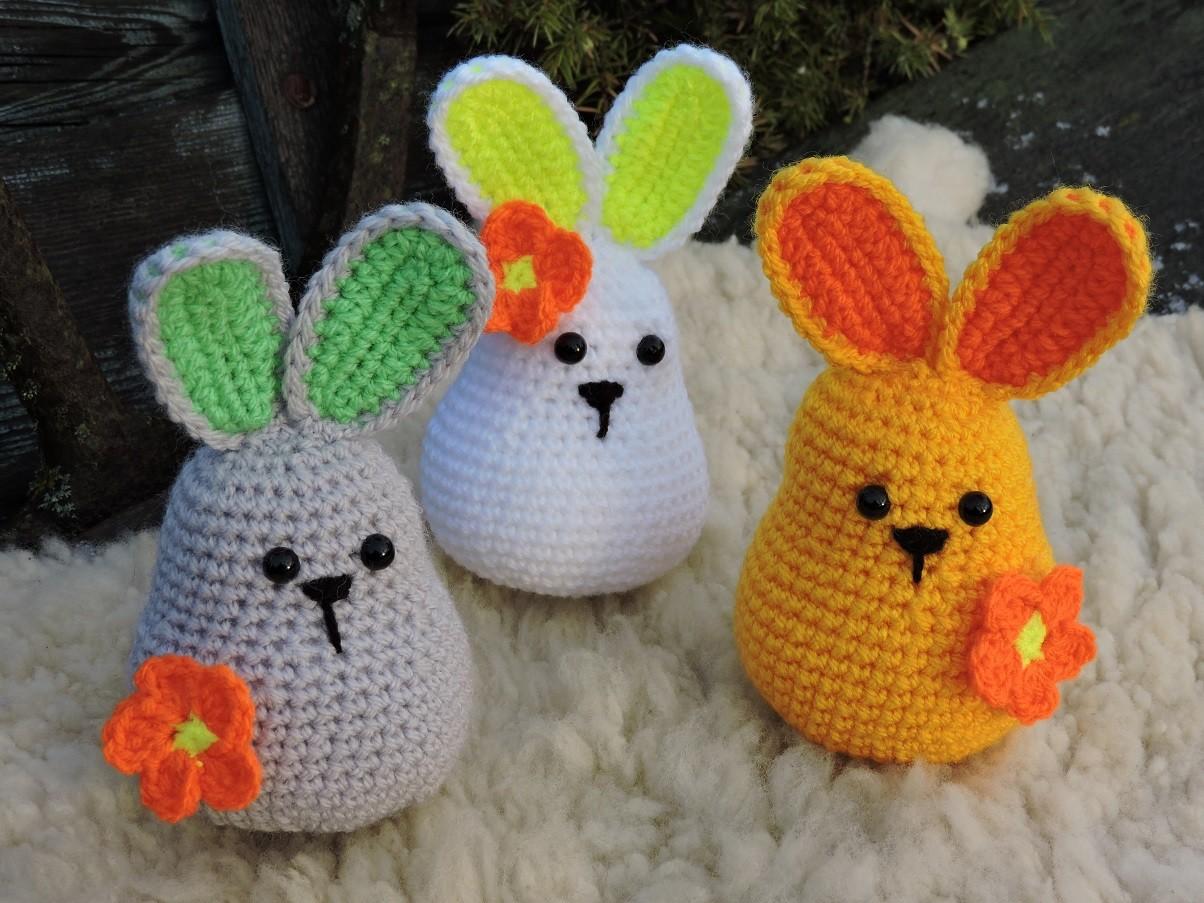 Munadepüha jänkuke - Amigurumi heegeldatud mänguasja juhend