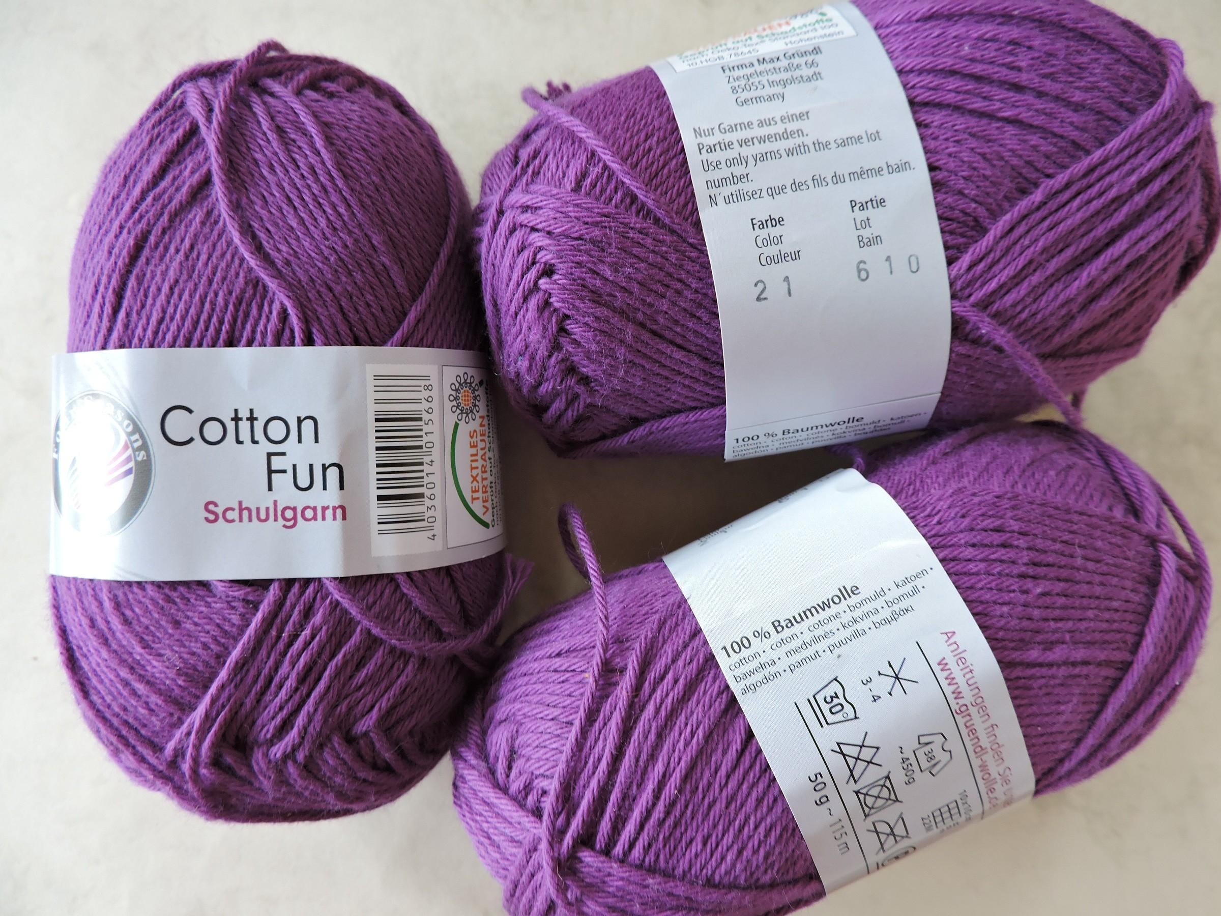 Cotton Fun Schulgarn lõng