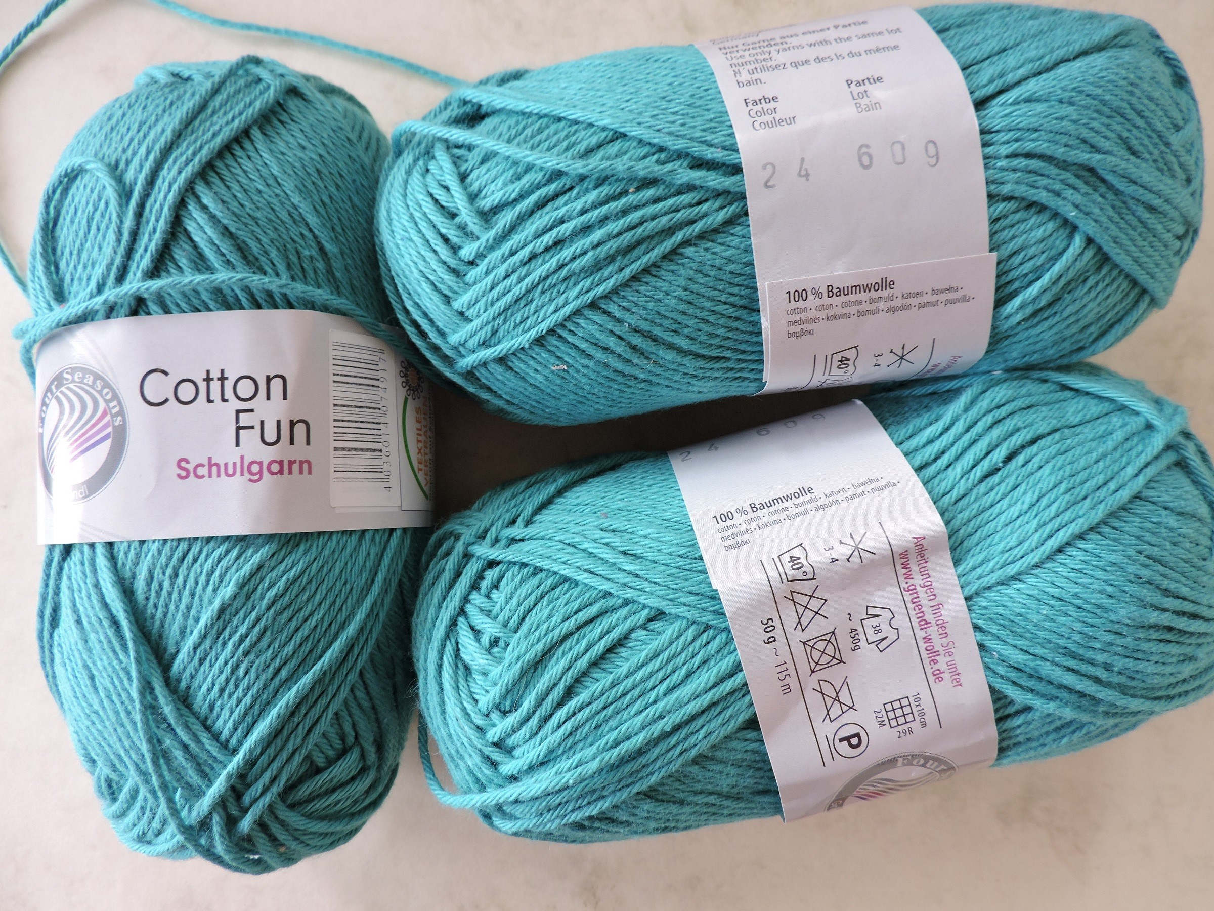Cotton Fun Schulgarn lõng